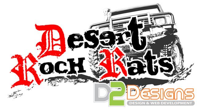 Desert Rock Rats Logo D2 Designs Llc