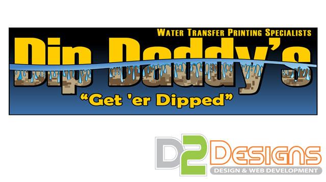 Dip Daddy S Logo D2 Designs Llc