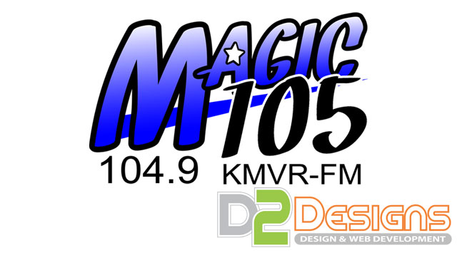Magic 105 Logo Design