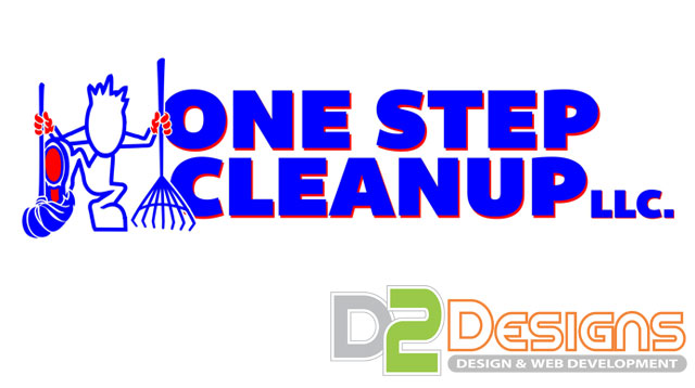One Step Cleanup Logo Design
