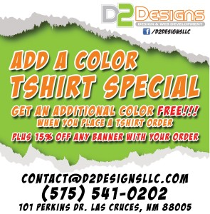 March 2014 - Add a Color Tshirt Special